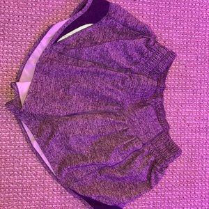 hotty hot grey lululemon new condition shorts